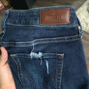 Hollister Dark Blue Skinny Jeans